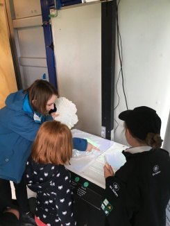 Sophie chats with some young scientists about Antarctica